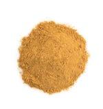 Cinnamon powder on white Stock Photo