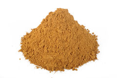 Cinnamon powder at on white background Stock Photo