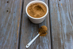 Cinnamon powder Stock Photo