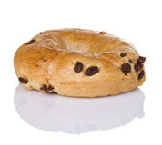 Cinnamon Raisin Bagel Royalty Free Stock Images