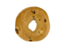 Cinnamon Raisin Bagel Stock Photography