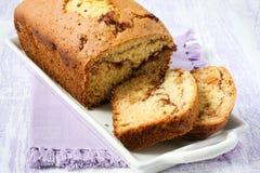 Cinnamon raisin bread Stock Photo