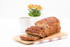 Cinnamon Raisin Bread Stock Photos