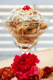 Cinnamon Raisin Bread Pudding Stock Photos