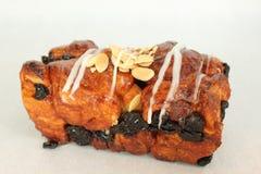 Cinnamon raisin bread on a white. A Cinnamon raisin bread on a white Royalty Free Stock Images