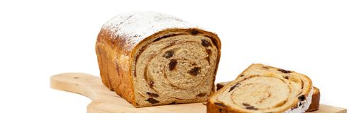 Cinnamon Raisin Bread Stock Photography