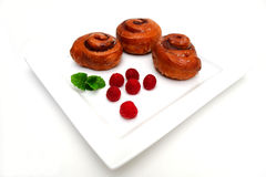 Cinnamon Roll Royalty Free Stock Images