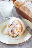 Cinnamon roll Stock Photo