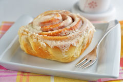 Cinnamon roll Royalty Free Stock Image