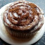 Cinnamon Roll. Sweet Cinnamon Roll Royalty Free Stock Photos