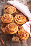 Cinnamon roll Stock Image