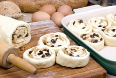 Free Cinnamon Rolls 001 Royalty Free Stock Photo - 2027595