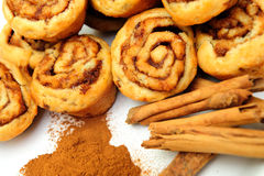 Cinnamon And Rolls Royalty Free Stock Photography