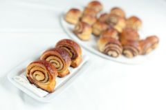 Cinnamon Rolls Stock Images