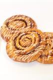Cinnamon rolls. Close up of cinnamon rolls Stock Images