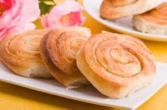 Cinnamon rolls. Royalty Free Stock Photo