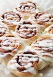 Cinnamon rolls Royalty Free Stock Photos