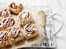 Cinnamon rolls Stock Image