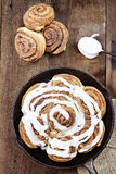 Cinnamon Rolls Royalty Free Stock Photography