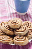 Cinnamon rolls series 14 Royalty Free Stock Photography