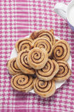 Cinnamon rolls series 15 Stock Photo