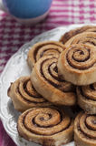 Cinnamon rolls series 13 Stock Photo