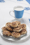 Cinnamon rolls series 07 Stock Images