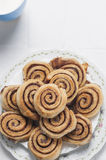 Cinnamon rolls series 02 Royalty Free Stock Photos
