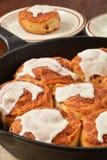 Cinnamon rolls Stock Images