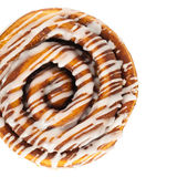 Cinnamon Rolls. On a white background. Selective focus Stock Image