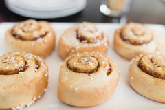 Cinnamon rolls. Stock Images