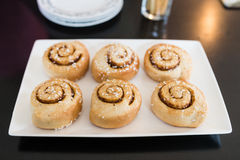 Cinnamon rolls. Stock Images