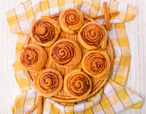 Cinnamon rolls Stock Photography