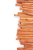 Cinnamon Side Border Royalty Free Stock Photo