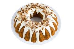 Cinnamon sour cream cake Royalty Free Stock Image