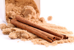 Cinnamon Spice and Brown Sugar Stock Images