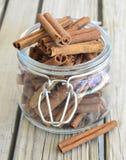 Cinnamon spice. Royalty Free Stock Photo