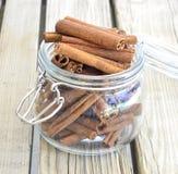 Cinnamon spice. Royalty Free Stock Photography