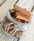 Cinnamon spice. Stock Photo