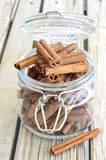 Cinnamon spice. Royalty Free Stock Images