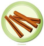 cinnamon spice sticks Διανυσματική απεικόνιση