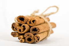 Cinnamon Spicy Sticks Close-up Royalty Free Stock Photo
