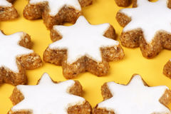 Cinnamon star cookies Royalty Free Stock Images