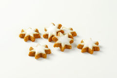 Cinnamon star cookies Stock Images