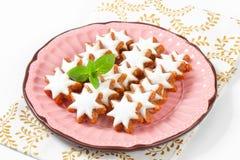 Cinnamon star cookies Stock Photography