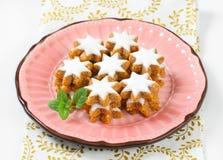 Cinnamon star cookies Royalty Free Stock Image