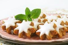 Cinnamon star cookies Royalty Free Stock Photo