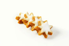 Cinnamon star cookies Royalty Free Stock Photo
