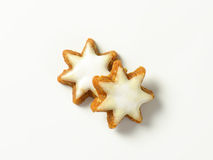 Cinnamon star cookies Stock Image