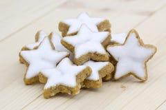 Cinnamon star cookies Stock Images
